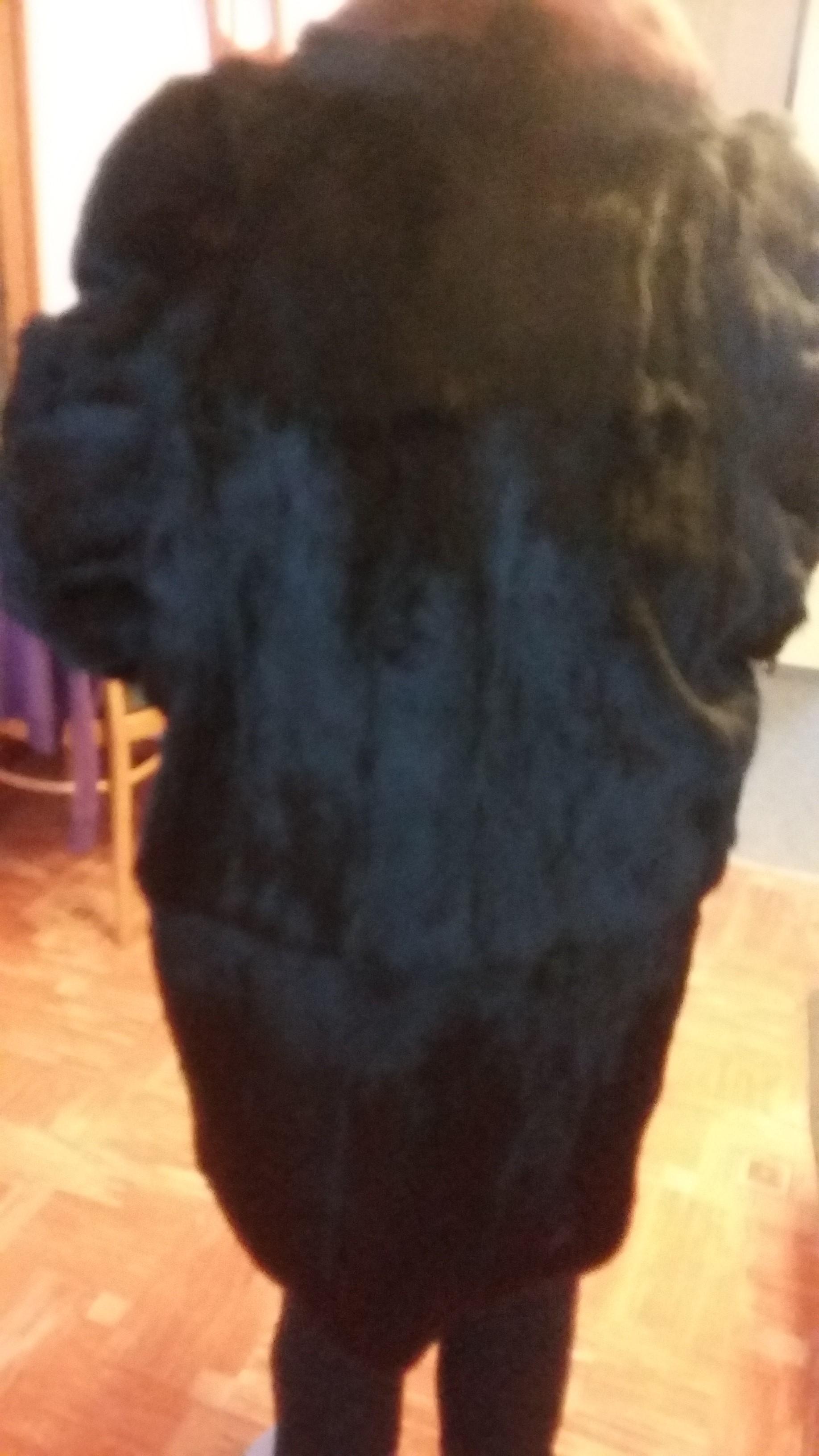 650676b4487 Prodám dámský kožich z králíka